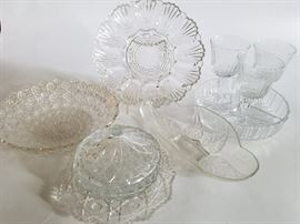 Ornate Cut Glass Serving Pieces    http://www.ctonlineauctions.com/detail.asp?id=737105