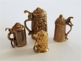 14k Gold Stein Charms	    http://www.ctonlineauctions.com/detail.asp?id=737114