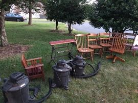 Items in the yard & on the porch are $25 each!! More items added daily
