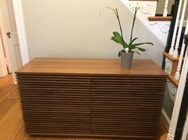 Walnut Line Credenza Designed by Nathan Yong for Folks/Design Within Reach.  Currently available in stores.