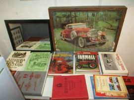 Automobile pictures and books