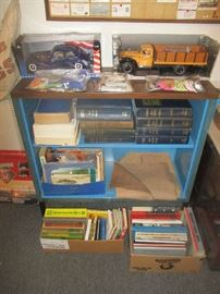 Cars, trucks and automobile books
