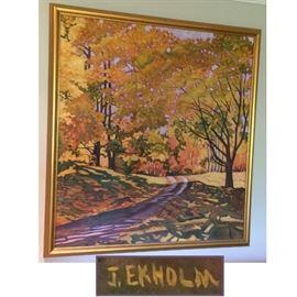 Original J. (Judi) Ekholm Painting, Large