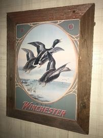Winchester vintage print