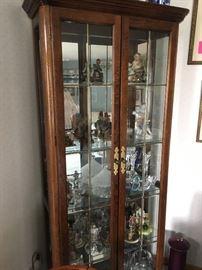curio cabinet & collectibles
