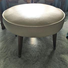 vintage vinyl stool