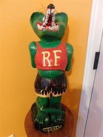 """Hand carved RAT FINK Statue 27 """""""