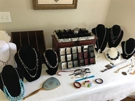 Custom made and vintage jewelry