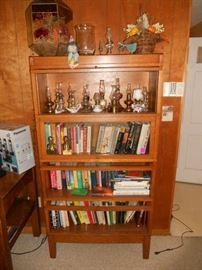 Warwick globe 4 stack barrister bookcase