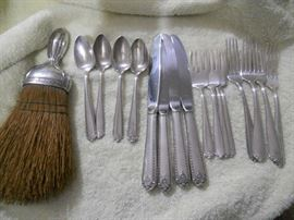 16 pieces of Westmoreland Lady Hilton  sterling
