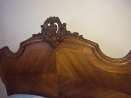 Beautiful antique  headboard