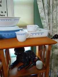 More Pyrex, including rare sugar and creamers