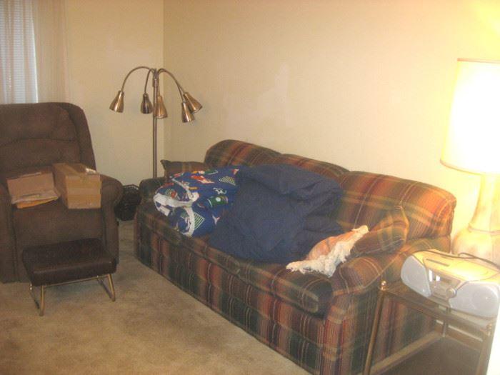 La Z Boy hide-a-bed
