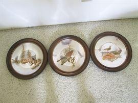 Reed & Barton Damascene Silver Plates Audubon Collection