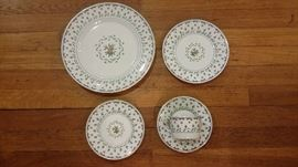 Ceralene Raynaud Limoges China:  5 PIECE PLACE SETTING...SERVICE FOR 12...WILL CONSIDER SPLITTING UP THE SET IN TWO EQUAL SETS .