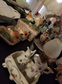 China and Decor - selection of vintage items