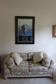Erte Poster, Down Sofa