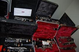 Many Clarinets