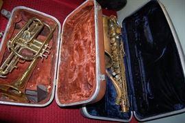 Horn, Bugle, Saxophone