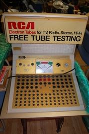 RCA Tube Tester Machine