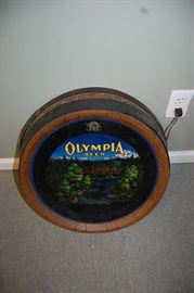 Vintage 1960's Olympia Lighted Beer Sign