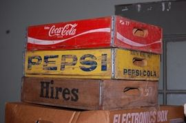 Old Wooden Soda Crates