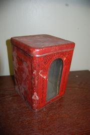 Antique Tin Cigar Store Counter Display