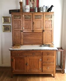 Seller's Kitchen Cabinet with enamel top