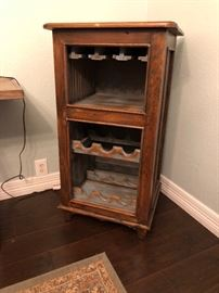 Southwestern / Rustic Wine Cabinet