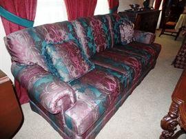 Elegant chintz couch