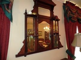 Great antique mirror
