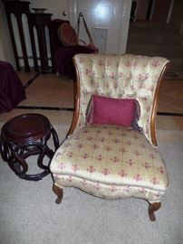 Elegant vintage chair