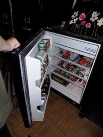 Handy apartment size fridge