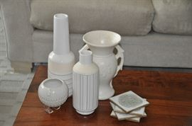 Great collection of West Elm and Pottery Barn pottery.