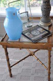 Great contemporary glass home decor!
