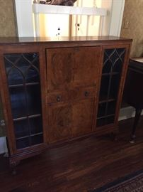 A great library piece with enclosed secretary