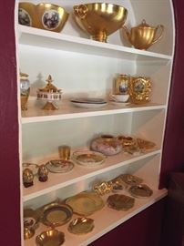 Pickard  and Osborne gold china