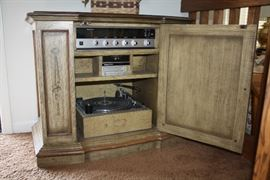 Magnavox Record Player, 8 Track Player and Stereo