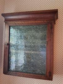 Tiger Oak Medicine Cabinet