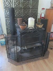 Wood Burner with Accessories
