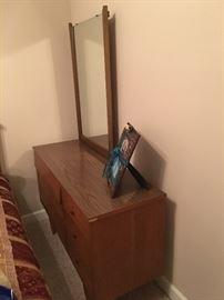 Mid-Century Harmony House Dresser with Mirror