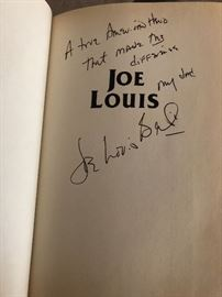 Joe Lewis Biography. Written by his Son. Signed commemorative issue.