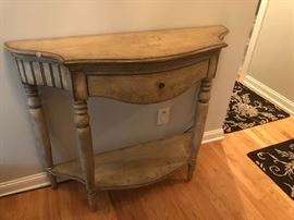 Painted Wood Console Table