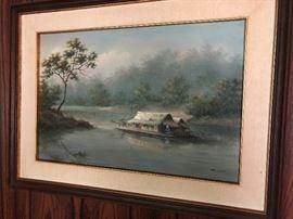Framed Art. Family Heritage Estate Sales, LLC. New Jersey Estate Sales/ Pennsylvania Estate Sales.