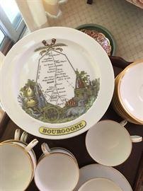 Set of 8 plates