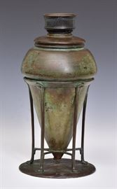 Tiffany Studios lamp base