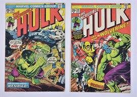 Marvel Comics Incredible Hulk (2), comic books