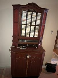 Vintage Juke Box-may need work