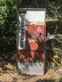 Vintage Cola Vending Machine