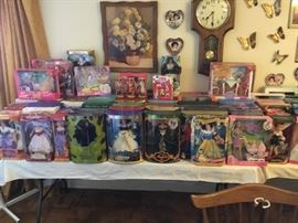 Large Barbie collection 1900 to 2002